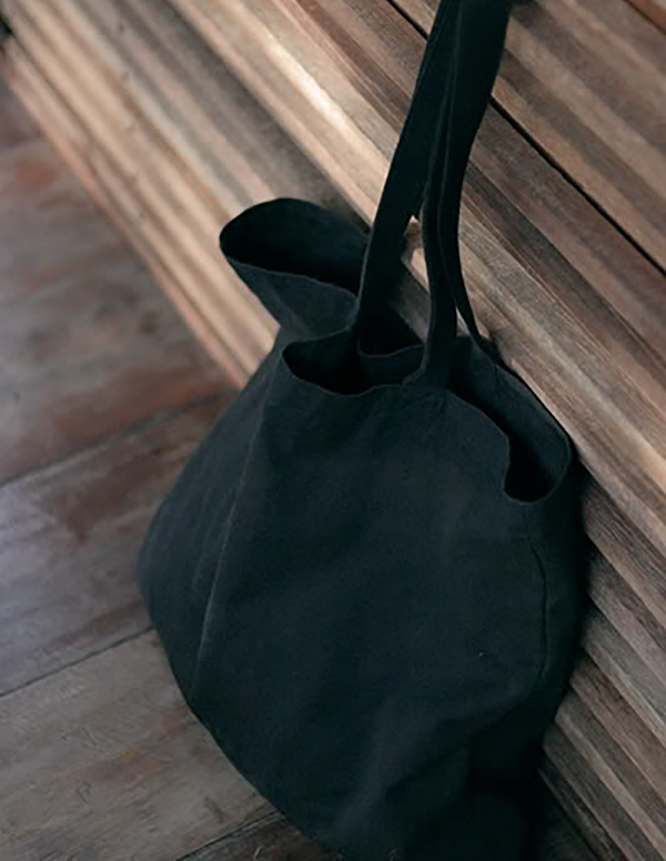 Black Canvas Bag